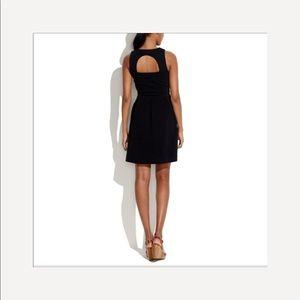 "Madewell Dresses - Madewell-""Gallerist"" Black Cut Out Flare Dress"